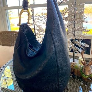 Gucci Black Medium Greenwich Hobo Shoulder Bag